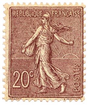 n°131* - Timbre FRANCE Poste