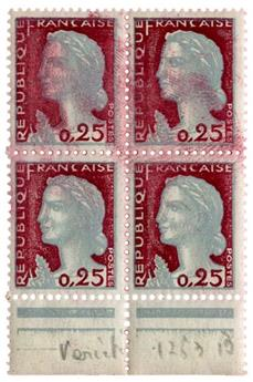 n°1263** - Timbre FRANCE Poste