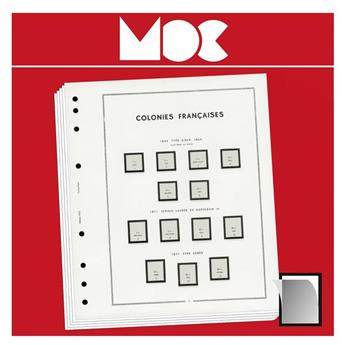 MOC SF ; FRANCE (Blocs Souvenir philatélique - avec pochettes) 2020 LEUCHTTURM (Hors cat.)