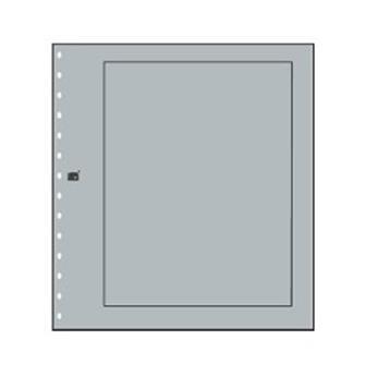 FEUILLES NEUTRES : Grises avec cadre (x10) SAFE® (Hors cat. / Ref 680)