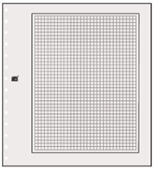 FEUILLES NEUTRES : Chamois Clair quadrillée (Ref 781)   (x10) SAFE® (Hors cat. / Ref 781)