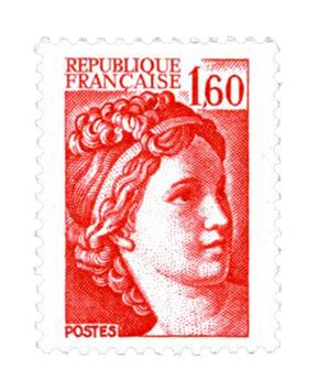 n° 2155b -  Selo França Correios