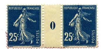 n°140** - Timbre FRANCE Poste