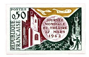n°1334a** ND - Timbre FRANCE Poste