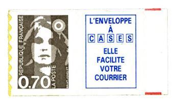 n° 6a -  Selo França Autoadesivos
