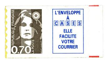 nr. 6a -  Stamp France Self-adhesive