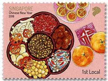 n° 2303/2310 - Timbre SINGAPOUR Poste