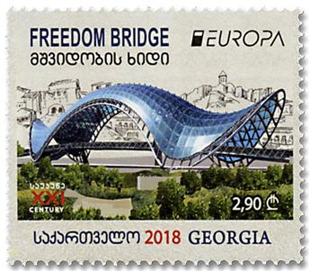 n° 529/530 - Timbre GEORGIE Poste (EUROPA)