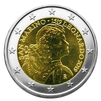 €2 COMMEMORATIVE COIN 2019 : SAN MARINO