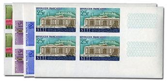 n° 1152/1155 (ND) - Timbre France Poste (Non dentelé en bloc de 4)