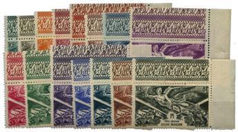 Grandes Séries Coloniales : La Victoire (15 valeurs**)