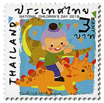 n° 3504/3507 - Timbre THAILANDE Poste