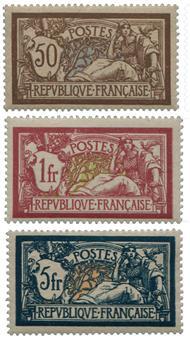 France : n°120/121 et 123*