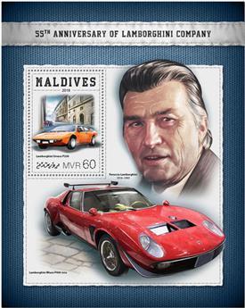 n° 1148 - Timbre MALDIVES Blocs et feuillets