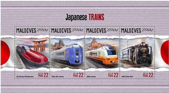 n° 6046/6049 - Timbre MALDIVES Poste