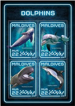 n° 6226/6229 - Timbre MALDIVES Poste