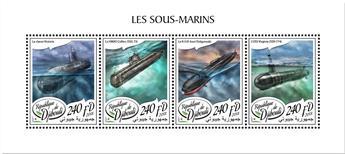n° 1844/1847 - Timbre DJIBOUTI Poste