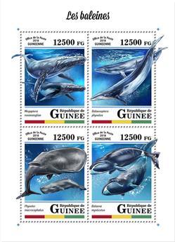 n° 9104/9107 - Timbre GUINÉE Poste