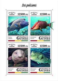 n° 9184/9187 - Timbre GUINÉE Poste