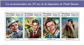n° 9304/9307 - Timbre GUINÉE Poste