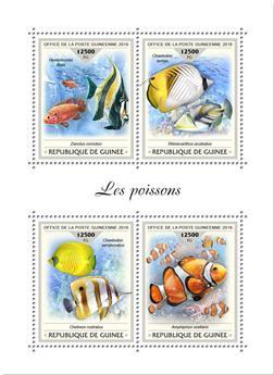 n° 9444/9447 - Timbre GUINÉE Poste