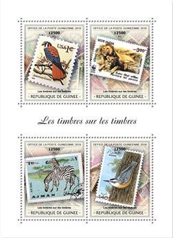 n° 9524/9527 - Timbre GUINÉE Poste