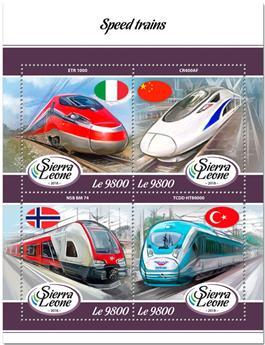 n° 7625/7628 - Timbre SIERRA LEONE Poste