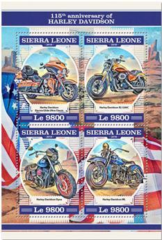 n° 7809/7812 - Timbre SIERRA LEONE Poste