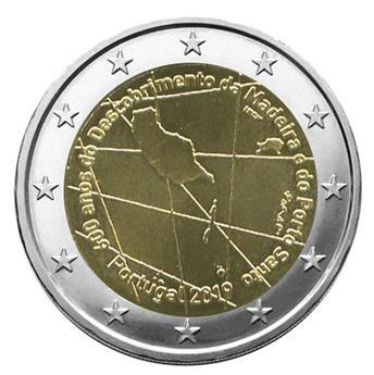 2 EURO COMMEMORATIVE 2019 : PORTUGAL (600 ans de la découverte de l´ile de Madère)