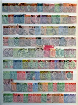 Grande-Bretagne : Collection 1840/1951 **/*/obl.