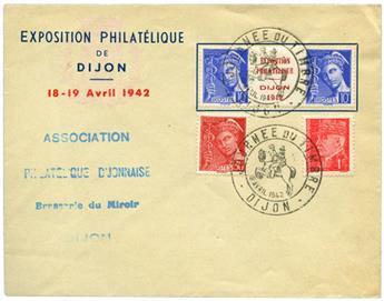 n°407 obl. sur lettre commémorative - Timbre FRANCE Poste