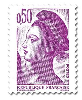 n° 2184 -  Selo França Correios
