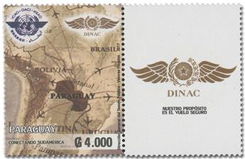 n° 3292 - Timbre PARAGUAY Poste