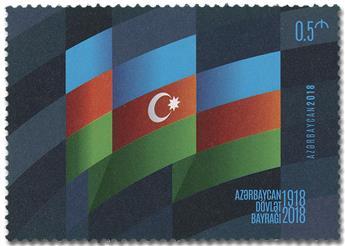 n° 1115 - Timbre AZERBAIDJAN Poste