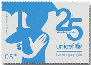 n° 1120 - Timbre AZERBAIDJAN Poste