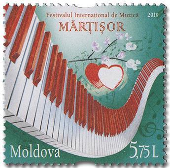 n° 949 - Timbre MOLDAVIE Poste