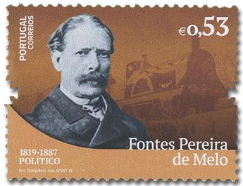 n° 4450/4456 - Timbre PORTUGAL Poste