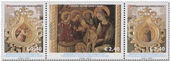 n° 1471/1473 - Timbre ORDRE de MALTE Poste