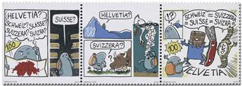 n° 2520/2522 - Timbre SUISSE Poste