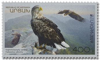 n° 152/153 - Timbre ARMENIE (Haut-Karabakh) Poste