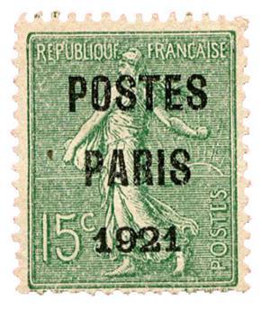 n°28(*) - Timbre FRANCE Préoblitérés