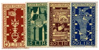 n°532/535** - Timbre ITALIE  Poste