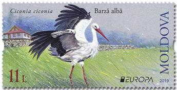 n° 958/959 - Timbre MOLDAVIE Poste (EUROPA)