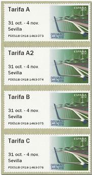 n° 150 - Timbre ESPAGNE Timbres de distributeurs