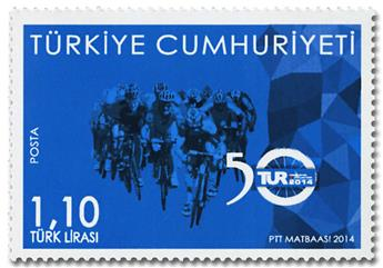 n° 3690 - Timbre TURQUIE Poste