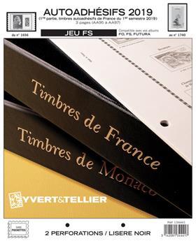 FRANCE AUTOADHESIFS FS : 2019 - 1ER SEMESTRE (Sans pochettes)