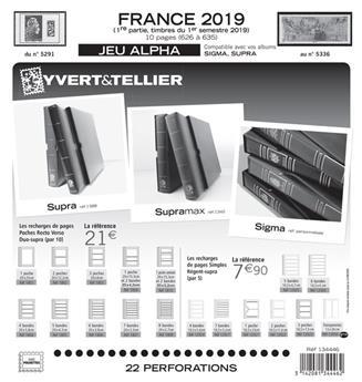 FRANCE ALPHA : 2019 - 1ER SEMESTRE (Sans pochettes)