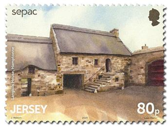 n° 2401/2406 - Timbre JERSEY Poste