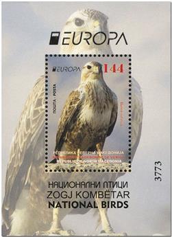 n° 37 - Timbre MACEDOINE Blocs et feuillets (EUROPA)