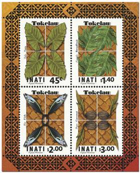 n° 75 - Timbre TOKELAU Blocs et feuillets